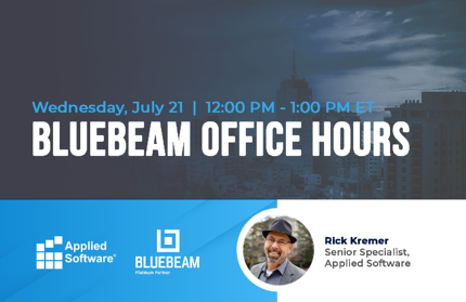 7-21-21 Bluebeam Office Hours