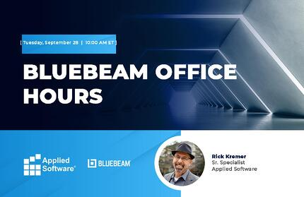 9-28-21 Bluebeam Office Hours