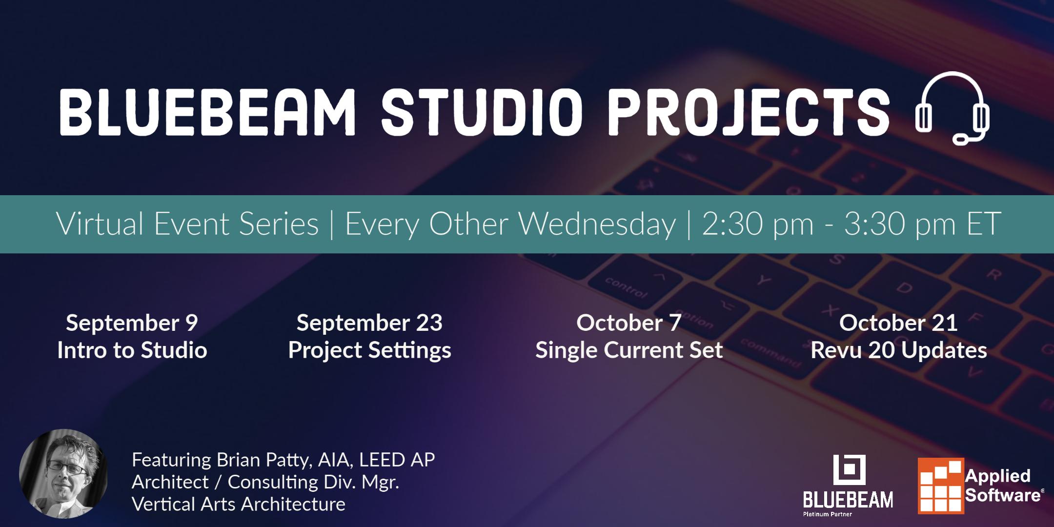 Bluebeam Studio Projects (1)