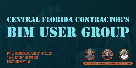 Central Florida Contractors BIM User Group-1