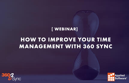 How to Improve Your Time Management with 360 Sync