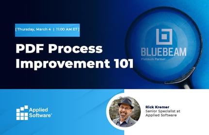 PDF Process Improvement 101